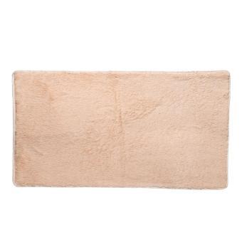Fluffy Rugs Anti-Skid Shaggy Area Floor Mat Camel - intl -