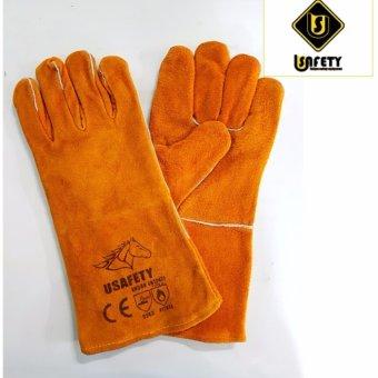 Găng tay da thợ hàn Usafety