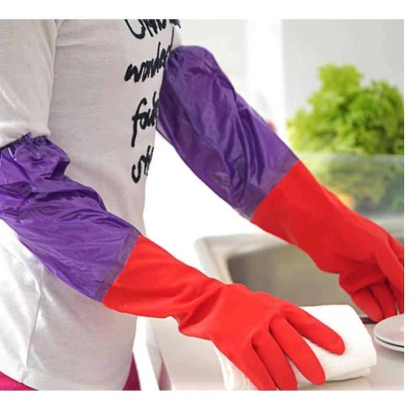 Găng tay rửa bát lót nỉ cao cấp