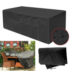 Garden Patio Furniture Cover Waterproof Rectangular Outdoor Rattan Table Cover - intl