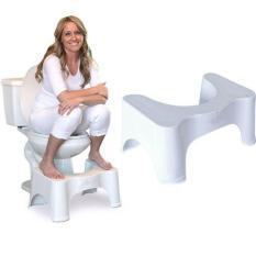 Giá Sốc Ghế kê chân toilet chống táo bón Chefman