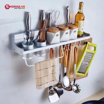 Giá để dao kèm để đồ nhà bếp đa năng