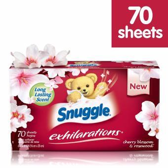 Hình thu nhỏ Giấy thơm ủ quần áo Snuggle Exhilarations cherry blossom & rosewood