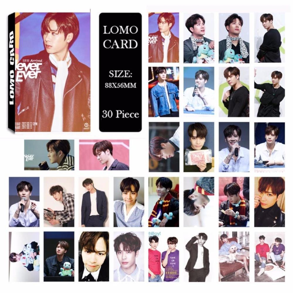 Khuyến mãi GOT7 Shopping Mall Never Ever JACKSON Album Kpop LOMO Cards NewFashion Self Made Paper