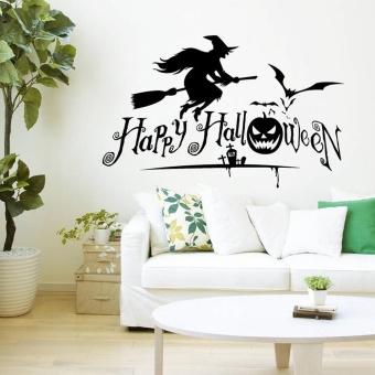 Halloween Home Decor Wall Stickers DIY Removable Vinyl Wall Sticker - intl
