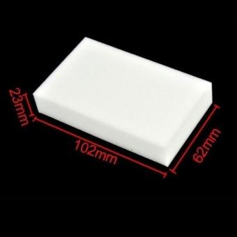 Đánh giá HappyLife Jingle Magic Sponge Eraser Melamine Cleaner10pcs(White) - intl - Giá