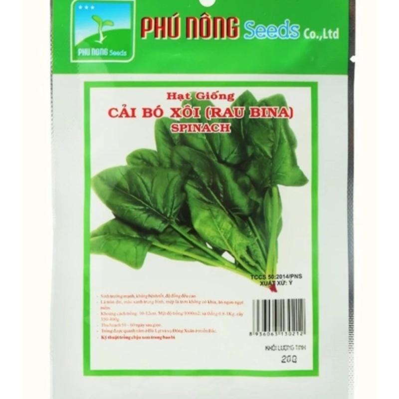 Hạt giống cải bó xôi ITALIA PN - 20g ( trên 400 hạt)