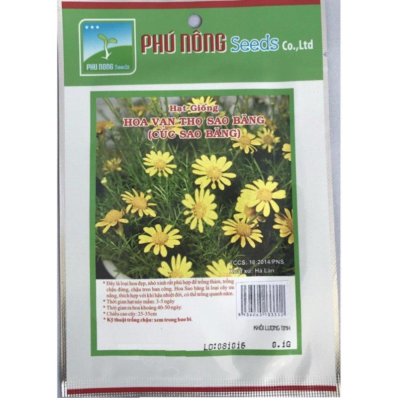 Hạt giống hoa cúc sao băng PN - 0.1g