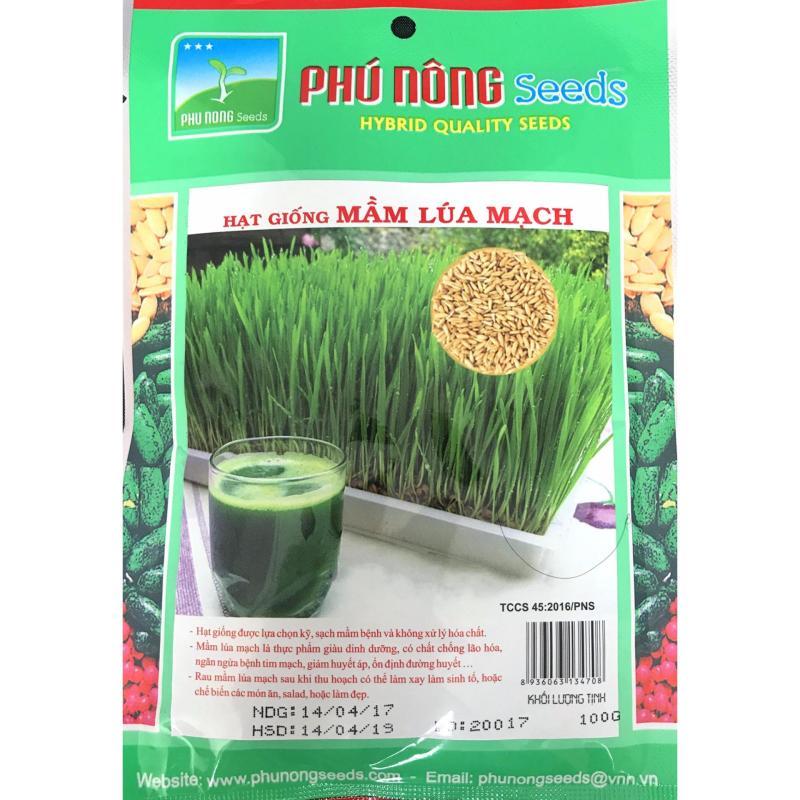 Hạt giống Mầm lúa mạch - 100g