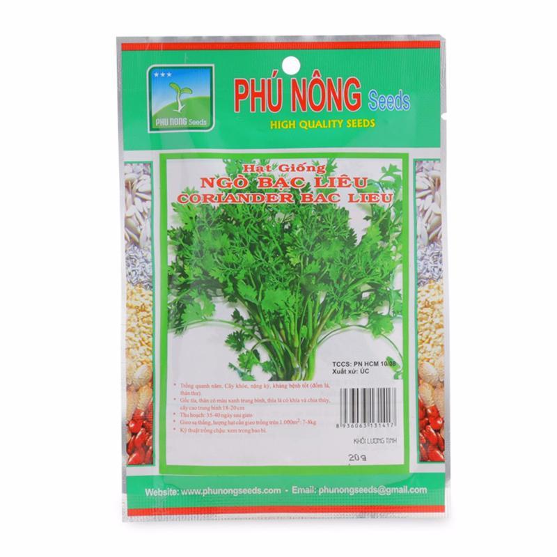 Hạt giống ngò bạc liêu no.1 PN - 20g