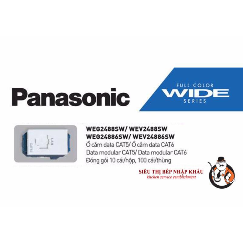 Bảng giá Hạt ổ cắm data CAT5E Panasonic WEV2488SW