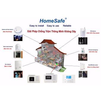 Hệ thống chống trộm không dây cho gia đình Homesafe G