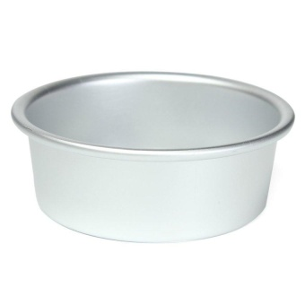 "Hl Reusable Round Cake Tin Pan Loose Base Bottom Sizesweddingbirthday 5"" - intl"