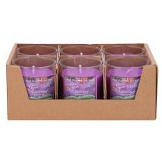 Báo Giá Hộp 6 ly nến thơm votives hương oải hương Miss Candle FtraMart FTM-NQM0413 (Tím)