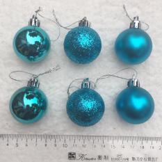 Báo Giá Hộp 6 quả châu 4cm treo cây thông trang trí giáng sinh  M&N Toys