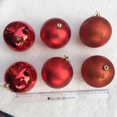 Nơi Bán Hộp 6 quả châu 8cm treo cây thông trang trí giáng sinh  M&N Toys