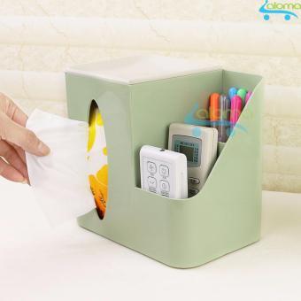 Hộp đựng bút kèm khăn giấy đa năng HomeBi HB-MN