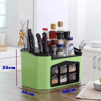 Hộp đựng gia vị và dụng cụ nhà bếp đa năng