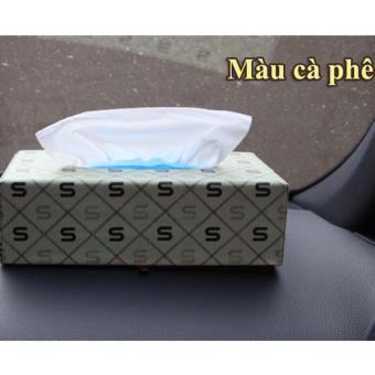 Hộp đựng khăn giấy (Kem)