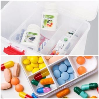 Hộp đựng thuốc chuyên dụng gia đình (Trắng) - 3