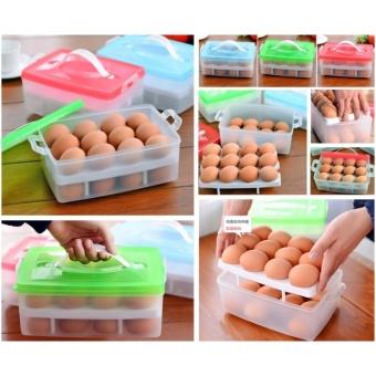 Hộp đựng trứng 2 tầng 24 quả tiện dụng - 8512884 , OE680HLAA4WF58VNAMZ-9031848 , 224_OE680HLAA4WF58VNAMZ-9031848 , 64000 , Hop-dung-trung-2-tang-24-qua-tien-dung-224_OE680HLAA4WF58VNAMZ-9031848 , lazada.vn , Hộp đựng trứng 2 tầng 24 quả tiện dụng