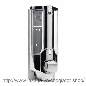 Hộp đựng xà phòng nước rửa tay gắn tường loại 1 bình/350ml (Xám)
