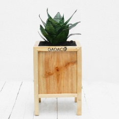 Wooden planter small size