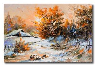 Tranh in canvas sơn dầu Thế Giới Tranh Đẹp Scenery 010