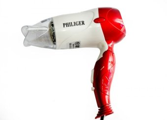 Máy sấy tóc Philiger 363106 (Trắng phối đỏ)