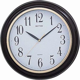 Đồng hồ treo tường RHYTHM CMG723NR06 Basic Wall Clocks (Nâu)