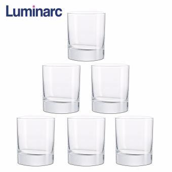 Bộ 6 ly thủy tinh thấp Luminarc Islande 200ml 19122 (Trong suốt)