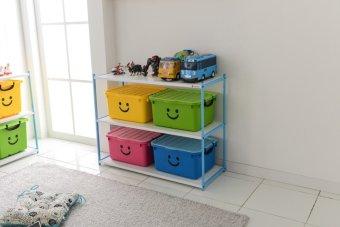 Thùng nhựa size lớn Happy Box Yuwon PS YW-12 (Xanh lá cây)