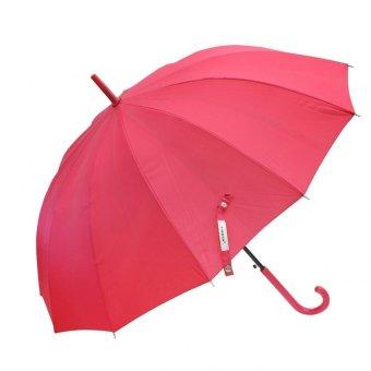 Ô đi mưa cá nhân đóng mở tự động Tiross (Đỏ)