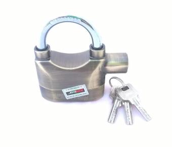 Khóa chống trộm có còi báo động DDTB (Nâu vàng)
