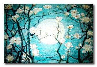 Tranh in canvas sơn dầu Thế Giới Tranh Đẹp Scenery 042