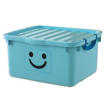 Thùng nhựa size lớn Happy Box Yuwon PS YW-13 (Xanh da trời nhạt)