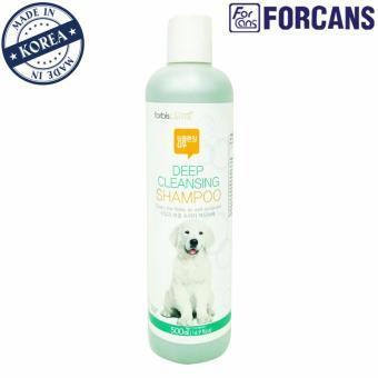 Dầu gội làm sạch da và lông thú cưng Forcans 500ml