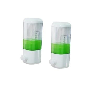 Mua Bộ 2 hộp đựng nước rửa tay cao cấp Huy Tuấn ( Trắng) giá tốt nhất