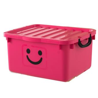 Thùng nhựa size lớn Happy Box Yuwon PS YW-10 (Hồng)