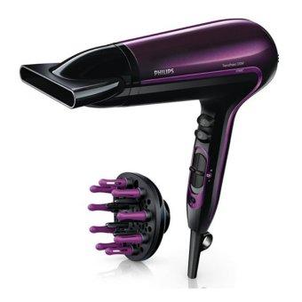 Máy sấy tóc Philips HP8233 (Tím phối đen) - Hãng phân phối chính thức