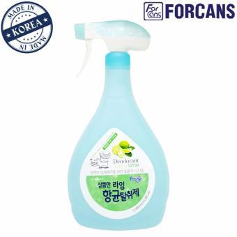 Dung dịch xịt khử mùi khu vực hương chanh Forcans 1000ml
