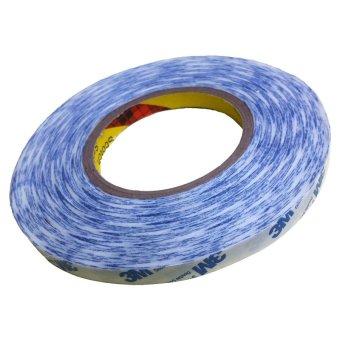 Băng keo 2 mặt 3M dính cao chịu nhiệt 9448A 10mmx50m (Trắng phối xanh)
