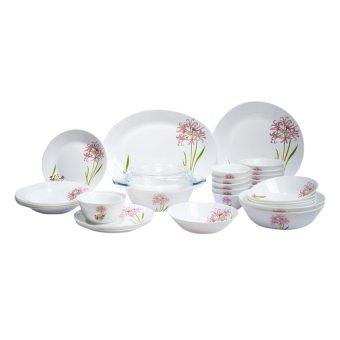 Bộ 32 món đồ dùng bàn ăn La Opala Diva 32PP