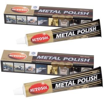 Bộ 2 tuýp kem đánh bóng kim loại Autosol Metal Polish 75ml x 2