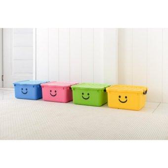 Thùng nhựa size lớn Happy Box Yuwon PS YW-11 (Vàng)