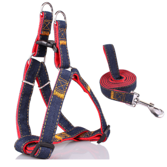 Adjustable Pet Dog Leash and Harness Size S for Small Poodle Chihuahua Dogs Weight Within 5 kg Pets