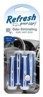 Vỉ 4 cây thơm Hương xe hơi đời mới Refresh Your Car 09588 (xanh)
