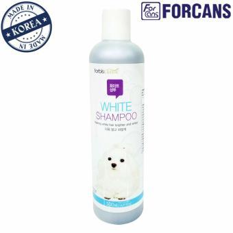 Dầu gội lông trắng dành cho thú cưng Forcans 500ml