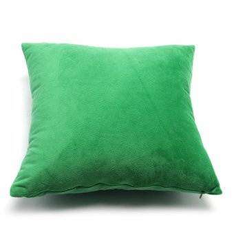 Gối trang trí Soft Decor 40 Green Velvet 40x40x15cm (Xanh lá)