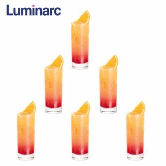 Bộ 6 ly thủy tinh cao Luminarc Islande 310ml D6237 (Trong suốt)